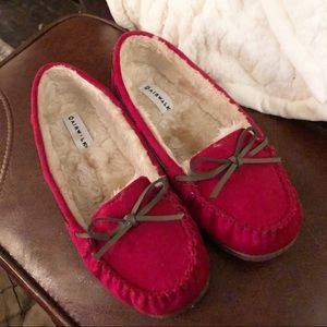 Airwalk Red Moccasin Loafers 10M